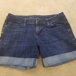 Womens LC Lauren Conrad Cuffed Denim Jean's Size 6